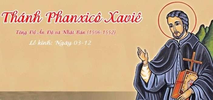 Theo bước thánh Phanxicô Xavie