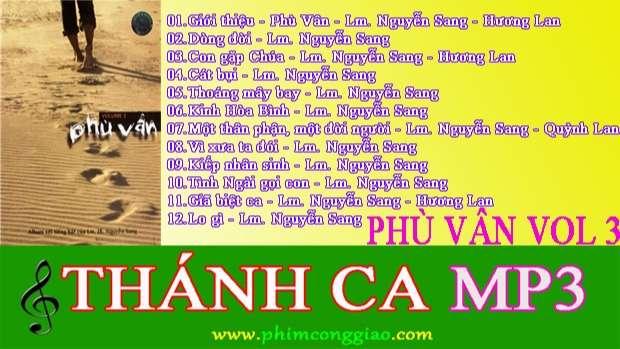 Phù Vân | Album Vol.3 – Lm. Nguyễn Sang