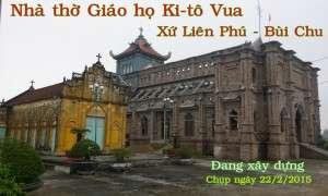 Lễ thượng vì tân Thánh đường giáo họ Trung Châu