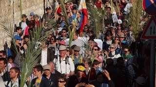 Giáo Hội Năm Châu:  24/03 – 30/03/2015: Lễ Lá tại Giêrusalem