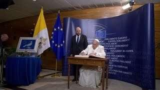 Thế Giới Nhìn Từ Vatican 21/11 – 27/11/2014 : ĐTC nói chuyện tại Nghị Viện và Hội Đồng Châu Âu