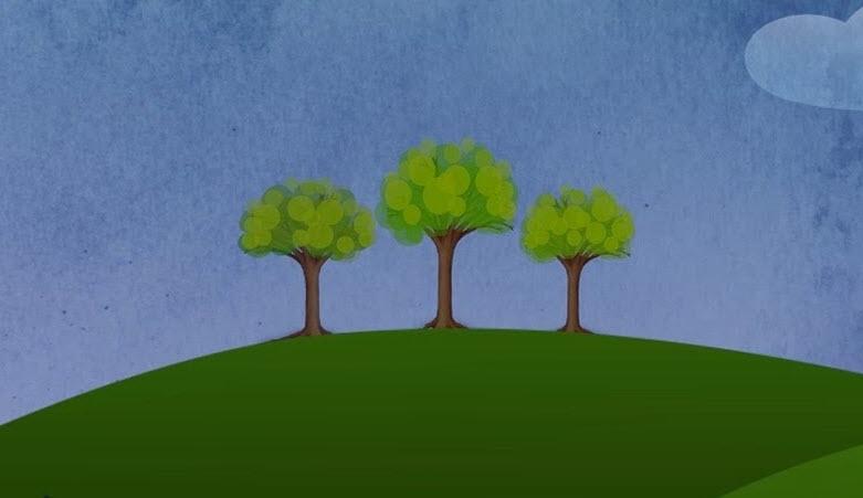 Câu chuyện ngụ ngôn: Ba cái cây