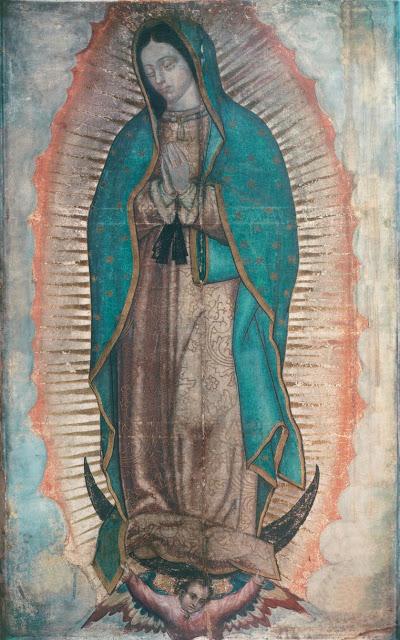 12 Sự lạ nơi bức ảnh Đức Mẹ Guadalupe