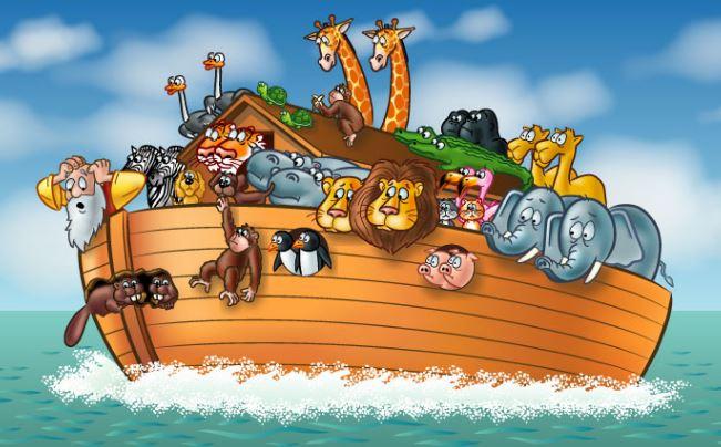 [Phim hoạt hình] Ông Nô-ê và con tàu